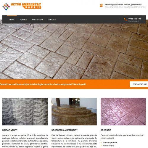 realizare-site-servicii-pavare-cu-beton-amprentat
