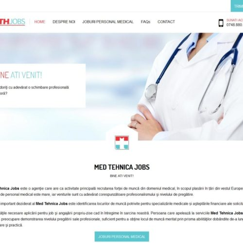 creare-site-joburi-medicale